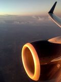 Airbus a320 Jet Engine Stock Image