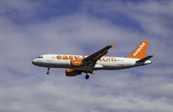 Airbus A320-214 - jet facile Photo stock