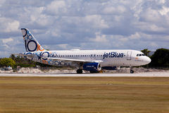Airbus A320 JetBlue Royalty Free Stock Photo