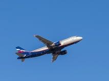 Airbus A320 Kurchatov Stockfotografie