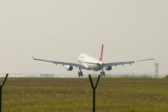 Airbus A330 343 Landed Stock Photography