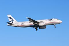 Airbus A320 Royalty Free Stock Photography