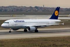 airbus Lufthansa Στοκ Φωτογραφίες