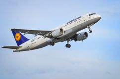 Airbus A320-200 Royalty Free Stock Photo