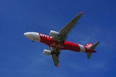 Airbus A320-216 (9M-AJH) Imagem de Stock Royalty Free