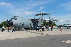 The Airbus A400M Atlas Royalty Free Stock Photography