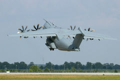 Airbus A400M take off Royalty Free Stock Photos