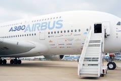 Airbus A380 at MAKS-2013 Stock Photos