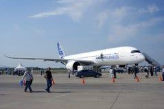 Airbus A350 at MAKS International Aerospace Salon Stock Photography