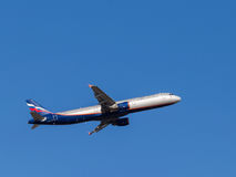 Airbus A321 Michurin Fotografia de Stock Royalty Free