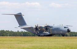 Airbus militar A plano de 400 M Fotos de Stock Royalty Free