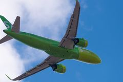 Airbus A320-271N VQ-BCH S7 Airlines Fotografia de Stock Royalty Free