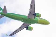 Airbus A320-271N VQ-BCH S7 Airlines Imagens de Stock Royalty Free