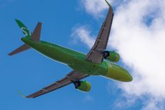 Airbus A320-271N VQ-BCH S7 Airlines Fotos de Stock Royalty Free