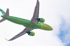 Airbus A320-271N VQ-BCH S7 Airlines Imagem de Stock