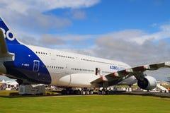 Airbus A380 na terra Foto de Stock Royalty Free