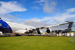Airbus A380 na terra Imagens de Stock Royalty Free
