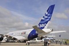 Airbus no indicador Imagem de Stock Royalty Free