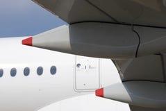 Airbus A350 no salão de beleza aeroespacial internacional de MAKS Fotografia de Stock Royalty Free