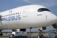 Airbus no salão de beleza aeroespacial internacional de MAKS Fotografia de Stock
