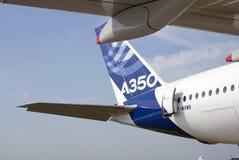 Airbus A350 no salão de beleza aeroespacial internacional de MAKS Foto de Stock