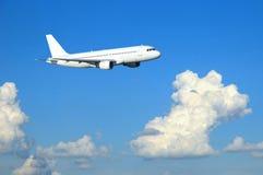Airbus no vôo Foto de Stock