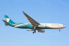 Airbus A330 Oman Air Fotografia de Stock