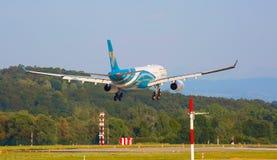 Airbus A330 Oman Air Royalty Free Stock Image