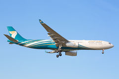 Airbus A330 Oman Air Stock Photography