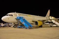 Airbus A320-214 - 2794 operados por Vueling imagem de stock