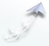 airbus papieru ogon ilustracja wektor