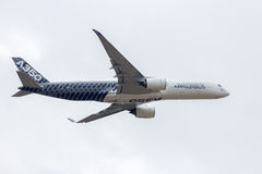 Airbus A350 Royalty Free Stock Photography