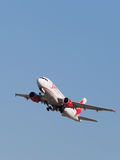 Airbus A319-111 passenger Stock Images