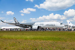 Airbus plano de XWB de A 350 - 900 Fotografia de Stock Royalty Free