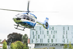Airbus Police Helicopter Royalty Free Stock Photos