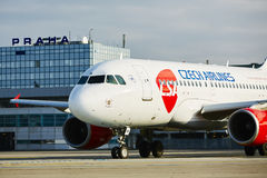 Airbus A319 Stock Photo