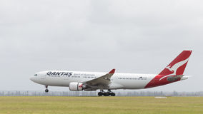 Airbus A330-203 Qantas Airways, Australia Stock Photo