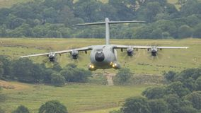 A300 Airbus RAF military cargo aircraft royalty free stock photos