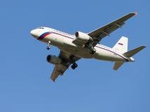 Airbus A319, Rusia Fotos de archivo