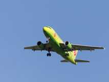 Airbus a319 S7 Airlines Imagem de Stock Royalty Free