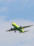 Airbus A320 S7 Airlines Imagens de Stock