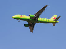 Airbus A320-214 S7 Airlines Imagem de Stock Royalty Free