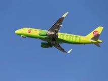 Airbus A320 S7 Airlines Imagem de Stock