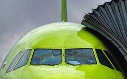 Airbus A320-100 S7 Airlines Fotografia de Stock