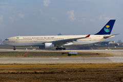 Airbus saoudien A330 Photo stock