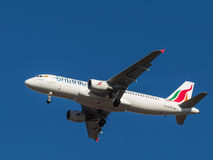 Airbus A-320, SriLankan Airlines Images stock