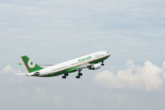Airbus A330 Take Off Royalty Free Stock Photography