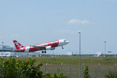 Airbus A320 Take Off Royalty Free Stock Images