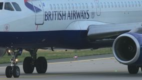 Airbus 320 taxiing