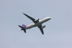 Airbus A320-200 of Thaismile Royalty Free Stock Image